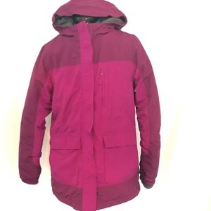 Lands End Girls Squall Parka Winter Coat Jacket